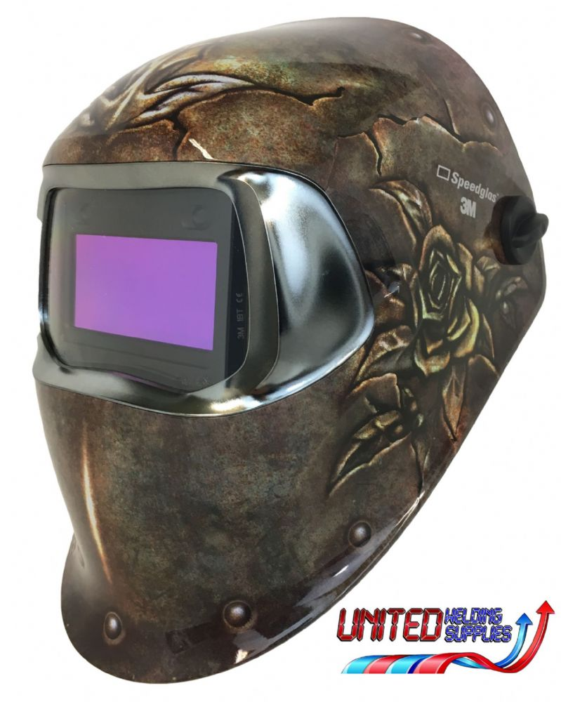 Speedglas 100 Welding Helmet - Steel Rose